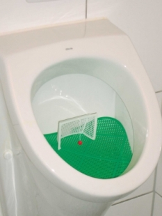 PoolOK Fussball-Urinal-Sieb