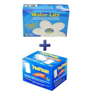 SPARPAKET: 1x WATER LILY + 1x PoolGOM Swimmingpoolradierer